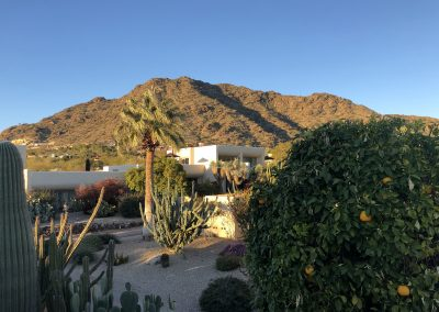 Camelback Inn Resort Courtyard