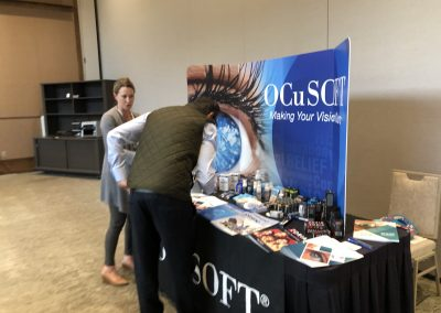 Industry Partner Hall OcuSoft OEC Scottsdale 2019