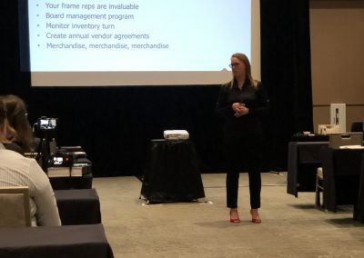 Samantha Toth Speaking at OEC Scottsdale 2019