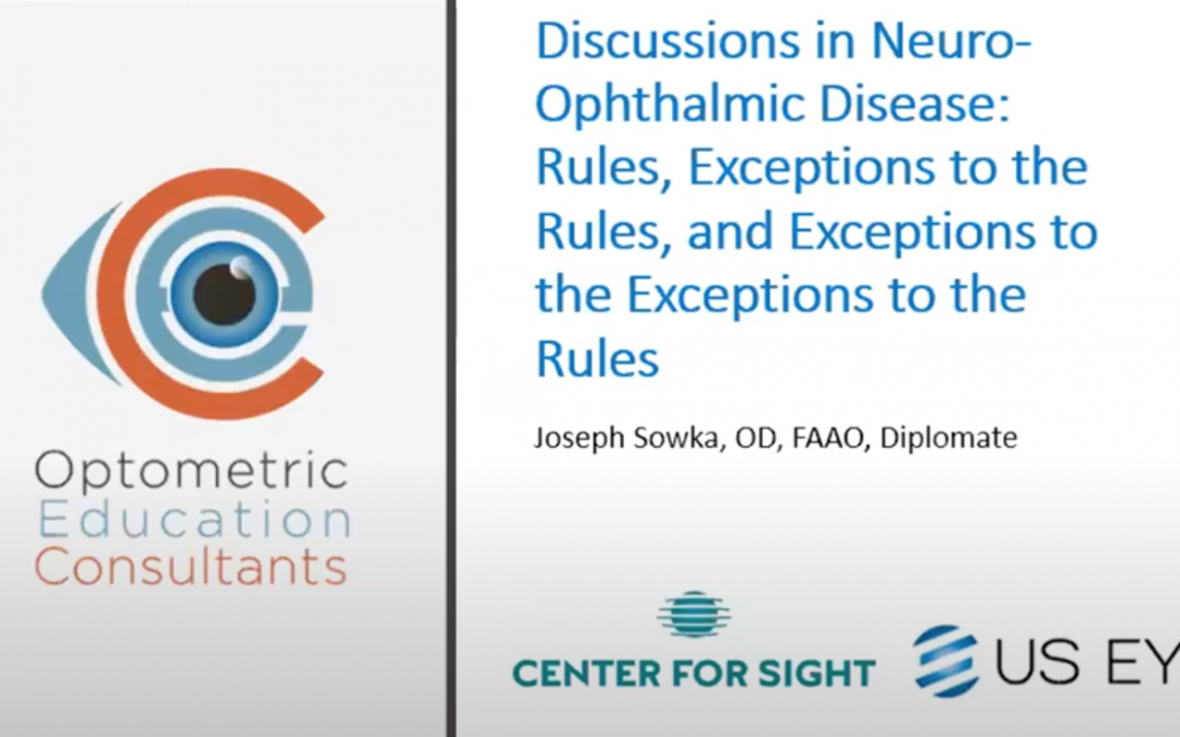 Rules and Exceptions in Neuro-Ophthalmic Disease